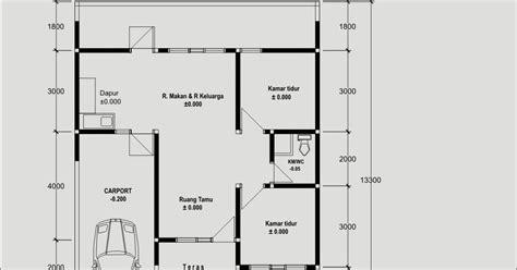 gambar sketsa rumah  bagus desainrumahidcom contoh