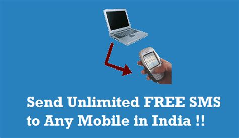 send unlimited  sms   mobile  india