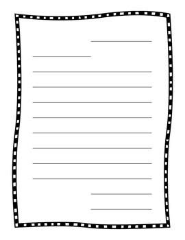 friendly letter papers lucy calkins pinterest paper