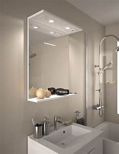miroir salle de bain avec prise et eclairage wasuk With miroir salle de bain avec interrupteur et prise