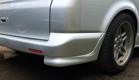 vw t5 transporter multivan rear bumper lip splitters spoiler bumper spats ebay