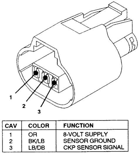 Crankshaft Sensor Wire Diagram For 2001 Honda Civic Dx by 94 New Yorker Changed Wtr Got Time