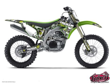 kit deco 65 kx kit d 233 co moto cross freegun kawasaki 65 kx kutvek kit graphik