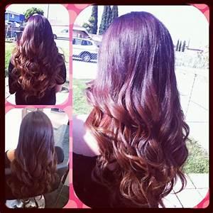 Ombré Hair Auburn : healthy hair is beautiful hair red auburn haircolor w copper ombre ~ Dode.kayakingforconservation.com Idées de Décoration