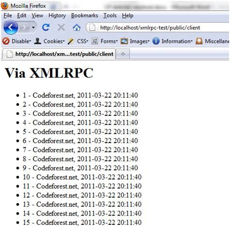 How To Build Php Xmlrpc Server, Client And Android