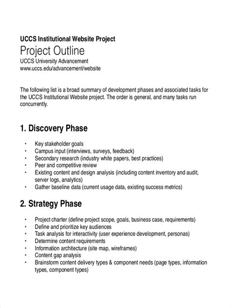 outline examples   examples