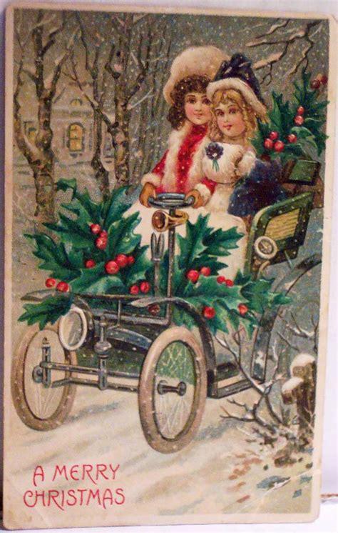 Vecās ,skaistās Ziemassvētku atklātnītes. - Spoki
