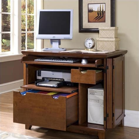 Kitchen Hutch Decorating Ideas - desks with returns compact computer cabinet desk computer desk armoire cabinet interior