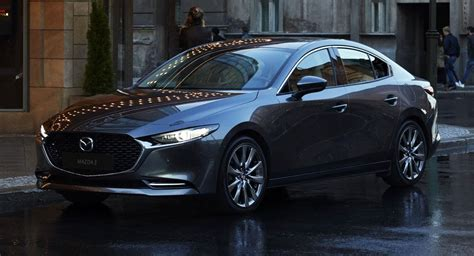 mazda  official pictures  sleek sedan
