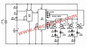 Traffic Light Controller Circuit Using Cd4027