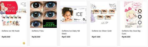 Harga Softlens Merk X2 harga softlens x2 terbaru dan termurah yang pas dikantong