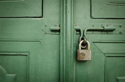 Old Locked Door By Commonhuman On Deviantart