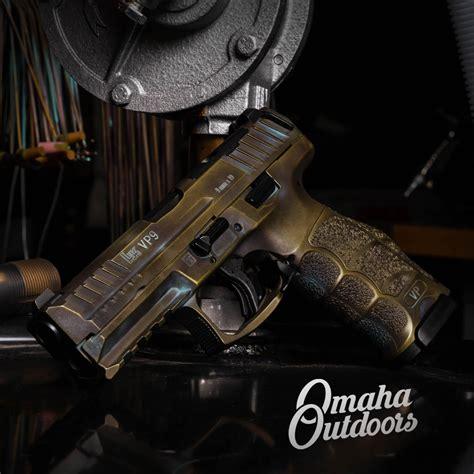 hk vp  optics ready   mm deep  pistol