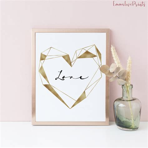 Personalized wall decorations are no doubt one of the best ways of making your walls beautiful and. Copper Wall Art Geometric Wall Art Wedding Decor Boyfriend ...