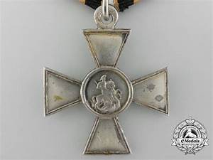 A Russian Imperial St. George Cross; Fourth Class - Russia ...