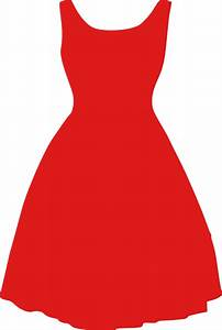 Dress Red Clipart transparent PNG - StickPNG