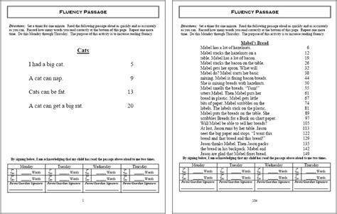 Worksheet Reading Fluency Worksheets Hunterhq Free Printables Worksheets For Students