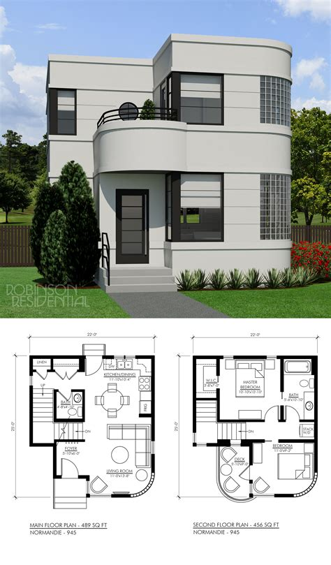 Modern House Layout by Contemporary Normandie 945 In 2019 New House Design