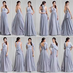 convertible bridesmaid dress 2014 stunning lavander a line chiffon convertible bridesmaid dresses cap sleeves