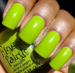 Refined and Polished FingerPaints y Sundress Pretty