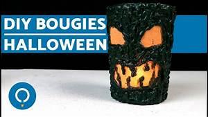 Deco Halloween A Fabriquer : d co diy bougies fabriquer pour halloween youtube ~ Melissatoandfro.com Idées de Décoration