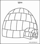 Igloo Coloring Template Designlooter Gt Iguana Inside Amazing sketch template