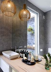 Ideas to decorate lamps chandelier in bathroom