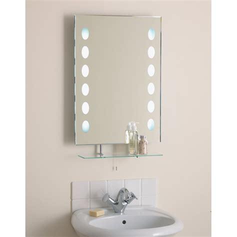 el korcula korcula bevelled bathroom mirror  pull