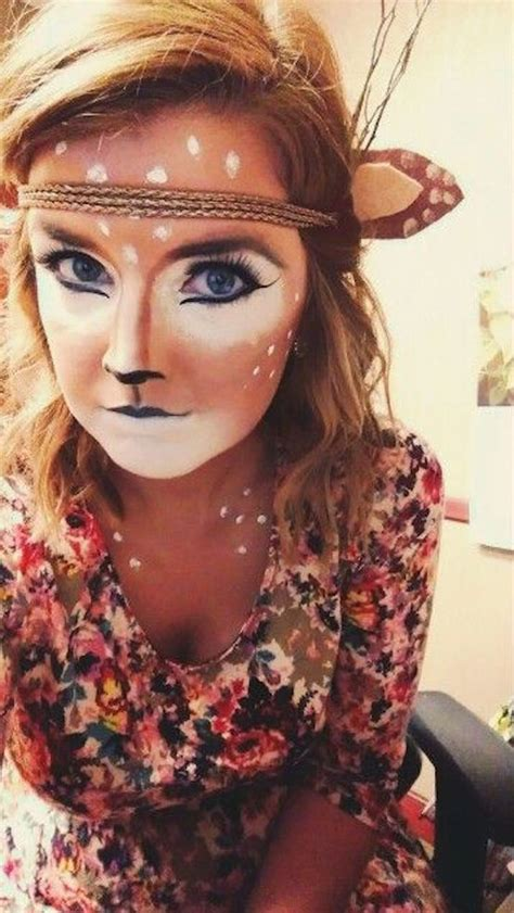 deer halloween makeup youll love feed inspiration