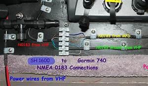 Garmin 740s To Furuno585 And Standard Gx1600