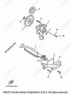 Yamaha Motorcycle 2000 Oem Parts Diagram For Oil Pump
