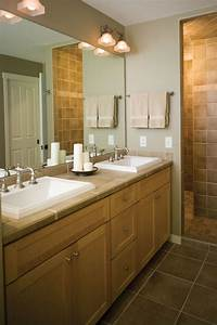 Outstanding rustic double bathroom vanities using for What kind of paint to use on kitchen cabinets for metal wall art mirrors