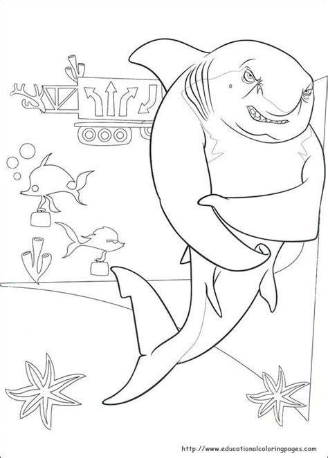 shark tale coloring educational fun kids coloring pages  preschool skills worksheets