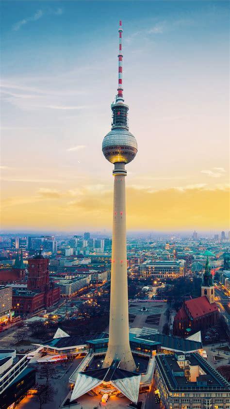 fernsehturm berlin tv tower germany wallpapers hd