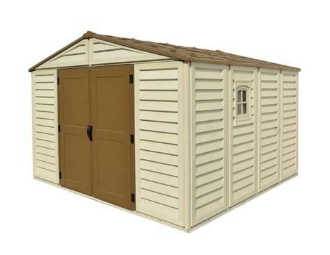 10 x 10 resin shed duramax woodbridge plus 10 5 ft w x 10 5 ft d