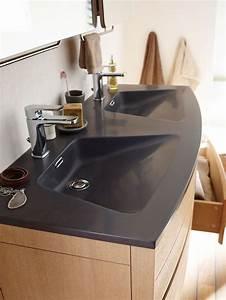 12 vasques de salle de bains tendance cote maison With salle de bain design avec lavabo deux vasques