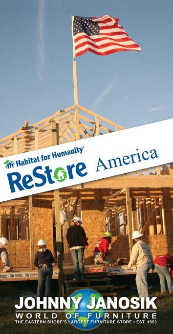 habitat  humanity restore america johnny janosik