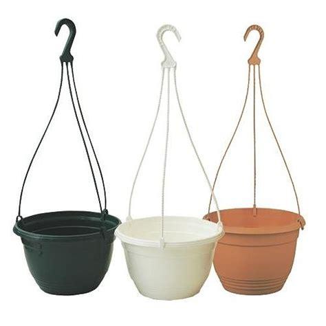 plastic garden pots and planters 25cm plastic hanging plant pots