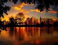 Beautiful Fall Landscapes Sunset