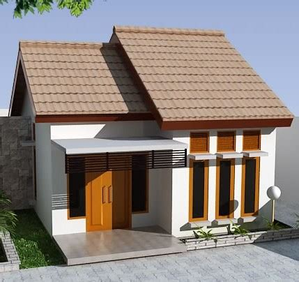 sketsa bangun rumah biaya  juta desain rumah minimalis