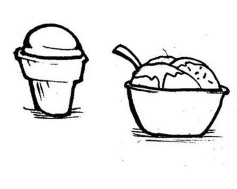 disegni cono gelato da colorare disegni da colorare coppetta e cono gelato disegni da