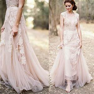 dusty rose wedding dress romantic church one shoulder With dusty rose wedding dress