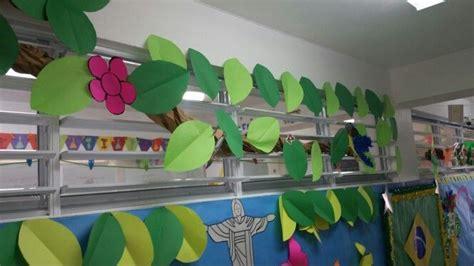 actividades para adornar aula de preescolar decoraci 243 n de la selva mamazonas decoraci 243 n para