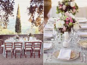 tuscany wedding table decorations wedding tuscany my italian wedding my italian wedding
