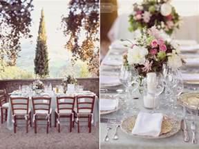 wedding table table decorations wedding tuscany my italian wedding my italian wedding