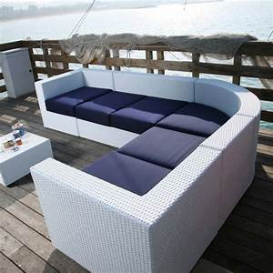 Moderne loungem bel f r garten und terrasse von dolcefarniente for Loungemöbel terrasse