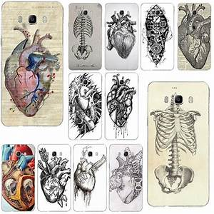 Medical Anatomical Heart Diagram Soft Phone Cases For