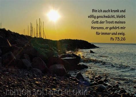 christliche postkarte  psalm  gute besserung
