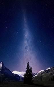 Milky, Way, Night, Sky, Mountains, 4k, Ultra, Hd, Mobile, Wallpaper
