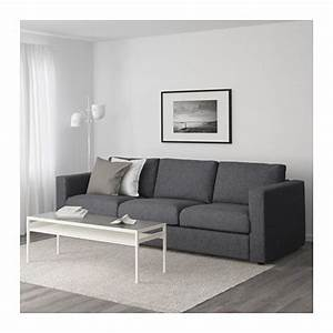 Ikea Lounge Möbel : vimle 3er sofa gunnared mittelgrau ikea hotel pinterest ~ Eleganceandgraceweddings.com Haus und Dekorationen